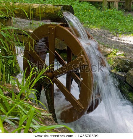 stock photo water wheel black forest germany 143570599 the way of
